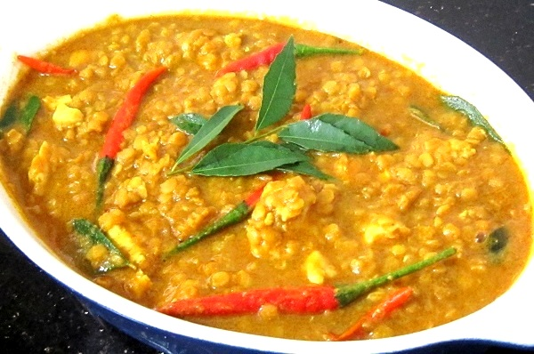 Curry Lentils with Chicken Recipe