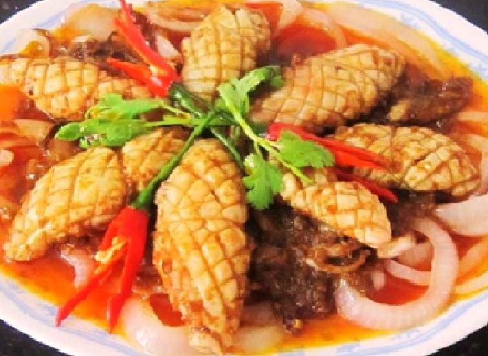 Chili Squid Recipe